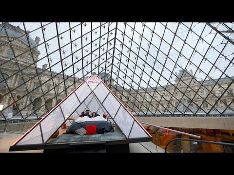Urlaub machen im Louvre: Eine Nacht mit der Mona Lisa
