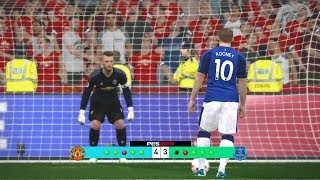 Manchester United vs Everton Penalty Shootout Simulated #PES2017 [New Kits 2017/18]Subscribe : https://goo.gl/hOkuyhTwitter : https://twitter.com/LionelPesG+ : https://goo.gl/Bz7FAmPatch : SS Patch Scoreboard : PES 2018 by aziz17 https://goo.gl/d9qAGGAdboard : PES 2018 by Abid Nabawi https://goo.gl/okOQzOKits : Kits Pack 2017/18 HD V3 by Geo_Craig90  https://goo.gl/QUEd8vPES 2017 Fantasy Gameplay/Penalty Shootout : https://goo.gl/gPYg18PES 2017 All Star Gameplay/Penalty Shootout : https://goo.gl/PKXzD8