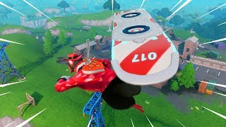 New DRIFT BOARD gameplay in Fortnite.. (It's AMAZING)