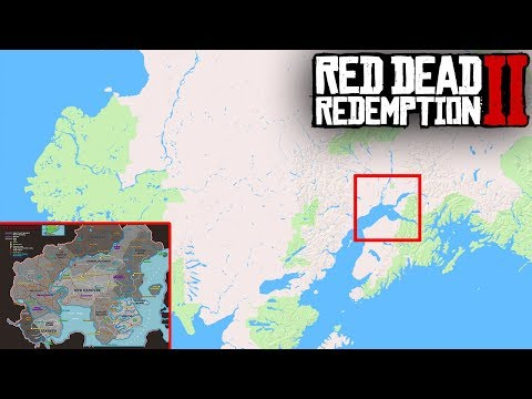 There's so much more to the leaked Red Dead Redemption 2 map... (RDR2)