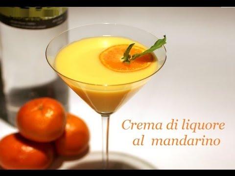 crema di liquore al mandarino - ricetta