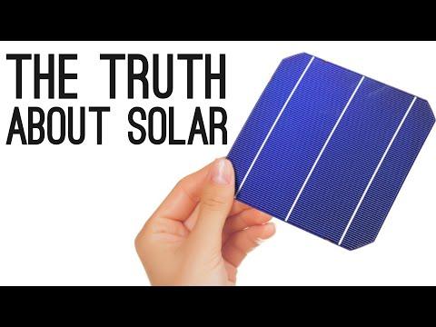 Pravda o solární energii
