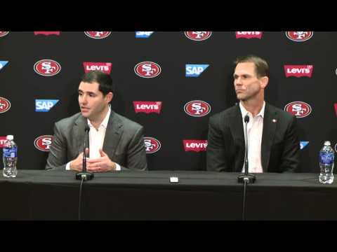 Jed York and Trent Baalke Press Conference on 49ers Coaching Change