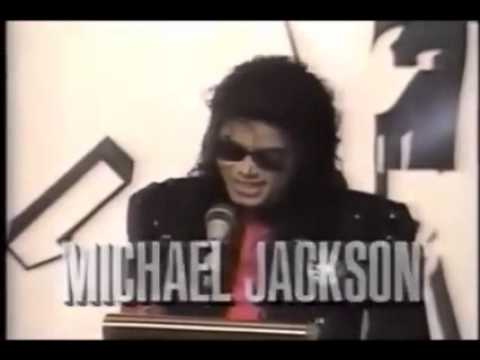 Michael Jackson 1990 Cbs Records Artist Of The Decade Awards