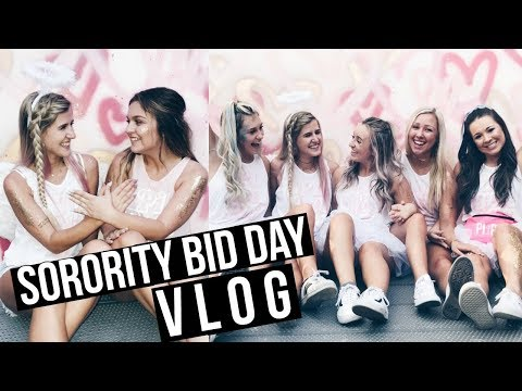 Bid Day + Internship VLOG