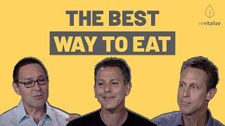 Sugar, Gluten, Paleo, Vegan: 3 Doctors Debate The Best Way To Eat with Dr. Joel Kahn, Dr. Mark Hyman