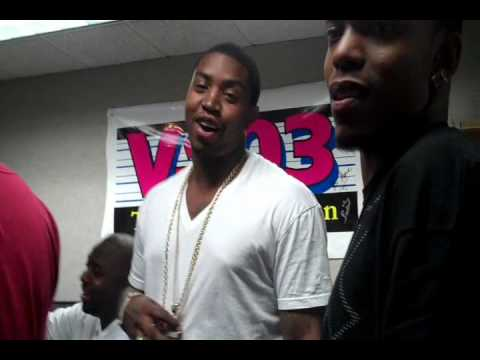 Pardon My Swag - Diamond & Scrappy at V-103 Acting Up.