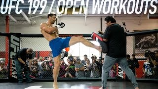 UFC 199 Open Workout Highlights by MMA Fighting