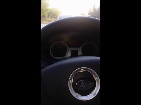 Ларгус уводит руль