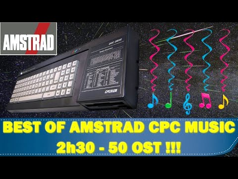 BEST OF AMSTRAD CPC OST MUSIC ( 50 OST -- 2 h 30 ) by Tarodius