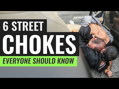 Six self defense chokes you should know!