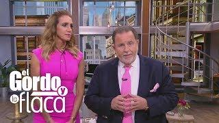 Raúl y Lili se visten de rosa contra el cáncer de mama