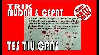 Download Video TES TIU CPNS  I  Trik Mudah dan Cepat MP3 3GP MP4