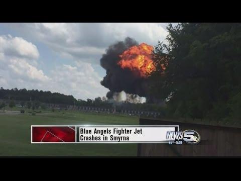 Blue Angel Goes Down In Fiery Crash, One Confirmed Dead (видео)