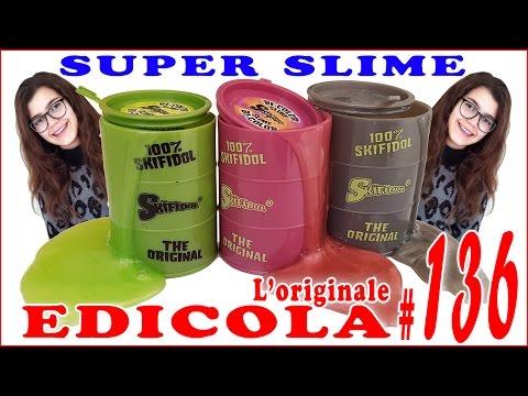 EDICOLA #136: SKIFIDOL SUPER SLIME bicolor (by Giulia Guerra) (видео)