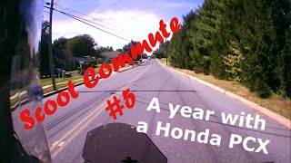 8. Scoot Commute #5 - Honda PCX-150 one year review MOTOVLOG