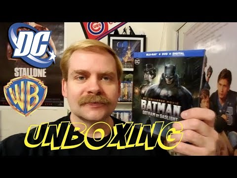 BATMAN GOTHAM BY GASLIGHT BLU RAY UNBOXING