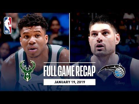 Video: Full Game Recap: Bucks vs Magic | Bledsoe Scores Season-High 30