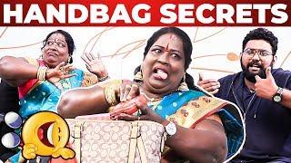 Video Chinna Ponnu Handbag Secrets Revealed by VJ Ashiq | Ultimate Comedy | What's Inside the HANDBAG MP3, 3GP, MP4, WEBM, AVI, FLV Februari 2019