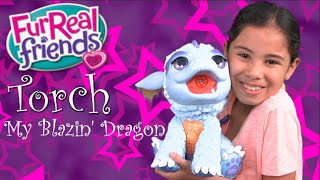 Torch My Blazin' Dragon by Furreal Friends Unboxing