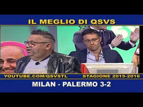 qsvs: i gol di milan palermo 3-2