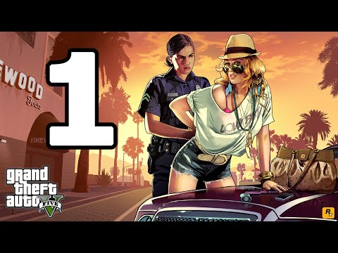 Grand Theft Auto 5 PC Walkthrough Part 1 - No Commentary Playthrough (PC)