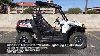 8. 2014 Polaris RZR 570 White Lightning LE For Sale Tucson AZ 520-579-3939 | RideNow Powersports on Ina
