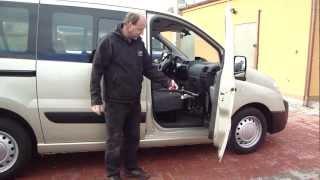 Elektrické přesedací zařízení - EZZ 100 001 ve voze PEUGEOT Expert