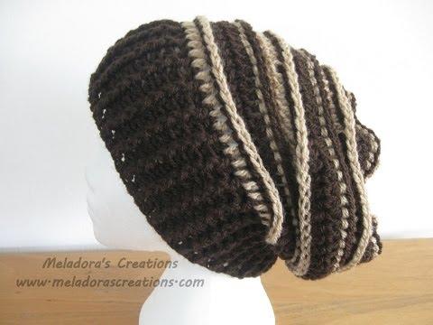 Riptide Slouch Hat – Crochet Tutorial