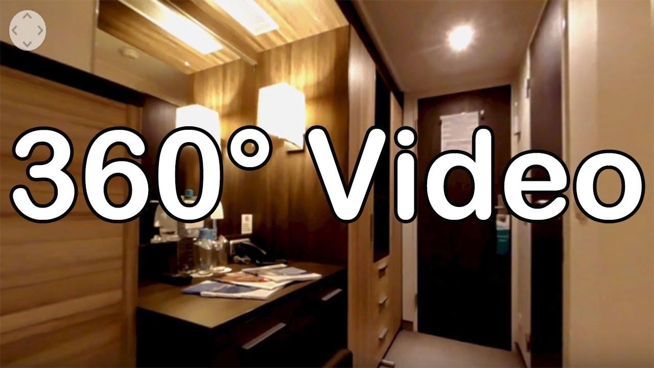 360 Grad Video: Kabine 104, Kat. C - MS Ariana