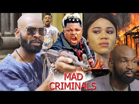 MAD CRIMINALS PART 3&4 {NEW ACTION HIT MOVIE} - 2020 SYLVESTER MADU  LATEST NIGERIAN NOLLYWOOD MOVIE