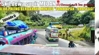 Video SENSASI NAIK BUS GUNUNG MELINTASI JALUR EXSTRIM menuju Panatapan - Brastagi   SUTRA MP3, 3GP, MP4, WEBM, AVI, FLV September 2018