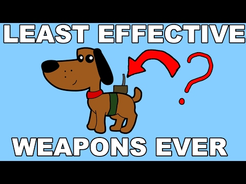 The Worst Weapons in History