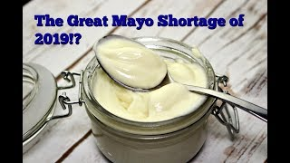 Where has all the vegan mayo gone? 4 Recipes for homemade vegan mayo by Gretchen's Bakery