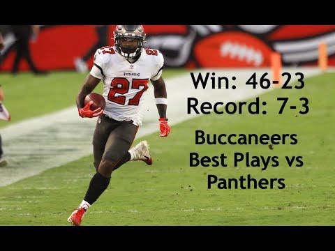 WEEK 10 || Tampa Bay Buccaneers Best Plays vs Panthers (Offense & Defense) || 11/15/2020