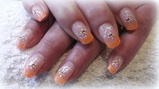 How to- Gel nail tutorial- neon