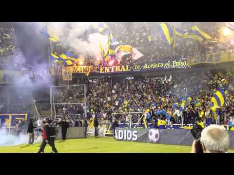 Video - Argentina! Fantástico! Rosario Central vs Belgrano 11.04.2014 - Los Guerreros - Rosario Central - Argentina