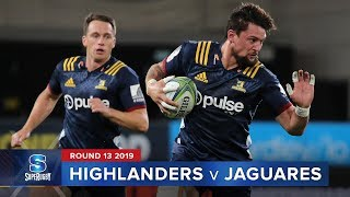 Highlanders v Jaguares Rd.13 2019 Super rugby video highlights | Super Rugby Video Highlights