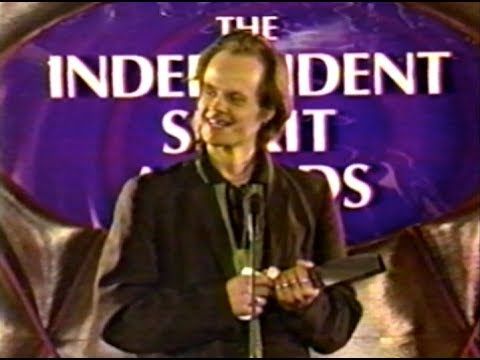 Fessenden accepts 1997 Someone to Watch Award