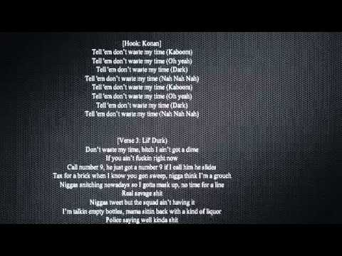 French Montana - Dont Waste My Time Ft. Chinx Drugz & Lil Durk (Lyrics On Screen)