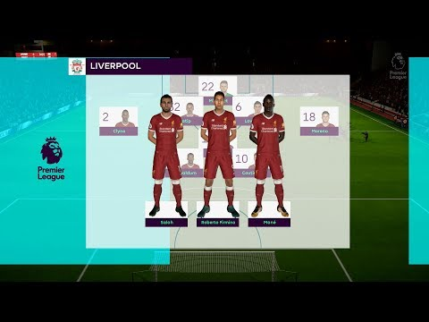 FIFA 18 | Liverpool Vs Everton - Full Gameplay (PS4/Xbox One)