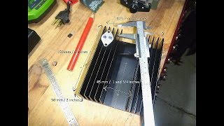 DIY Bench Power Supply #8 – Mounting Transistors on the Heatsink