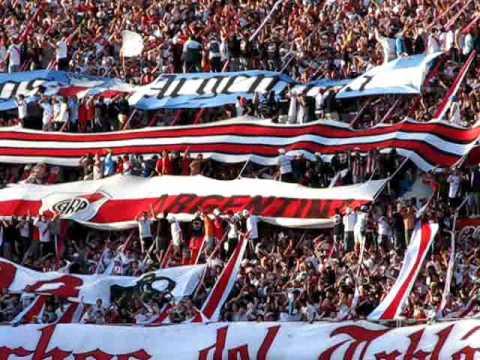 Video - Te llevamos en el corazon, te queremos ver salir campeon... - Los Borrachos del Tablón - River Plate - Argentina