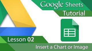 #6 [구글스프레드시트] Google Sheets - Tutorial 02 - Insert a Chart or Image (영문)