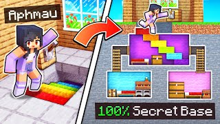 100% SECRET Path To My INVISIBLE Minecraft Base!
