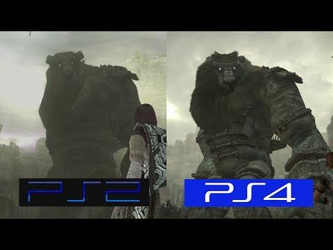 Shadow Of The Colossus   PS2 VS PS4   GRAPHICS COMPARISON   Comparativa
