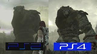 Shadow Of The Colossus | PS2 VS PS4 | GRAPHICS COMPARISON | Comparativa