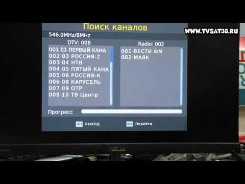Обзор  ресивера DVB T2 SELENGA HD920. Подключение, настройка.