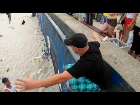 funny lustige video Smieszny skok Smieszny film funny fall pech und pannen Sunrise Festival 2013