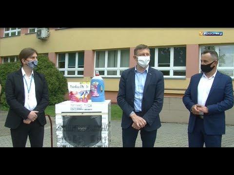 Przekazanie sprzętu AGD włoszczowskiemu szpitalowi